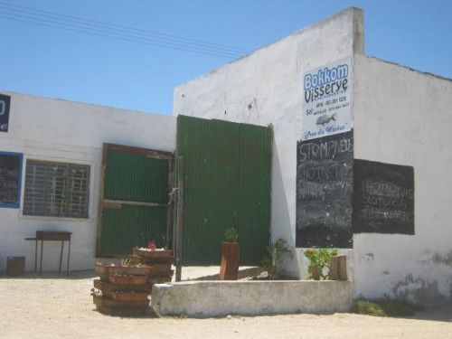 a Fishing Factory in the Lane