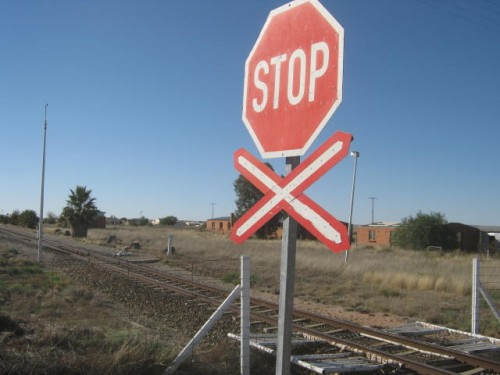 railway crossing at Putsonderwater