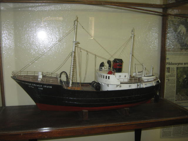 a Model of George Driver Irvin - CTA 138