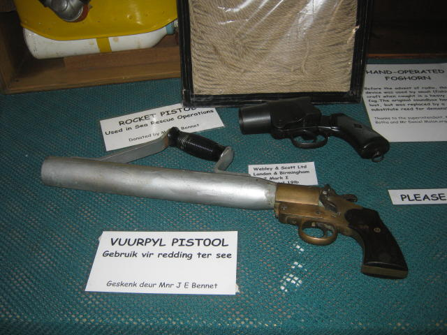 Pistols used in Sea Rescue Operations