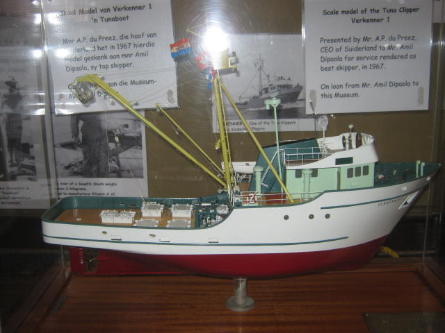 A Scale Model of Tuna Clipper Verkenner 1