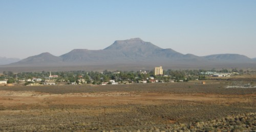 A panoramic view of Calvinia