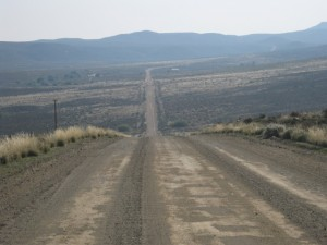 Long distances between valleys in the Karoo Region