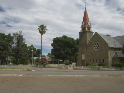 The church in Loxton