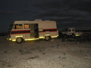 Our Rig - at the overnight spot